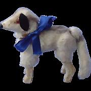 "antique fur Borzoi 4 French fashion doll 3"""