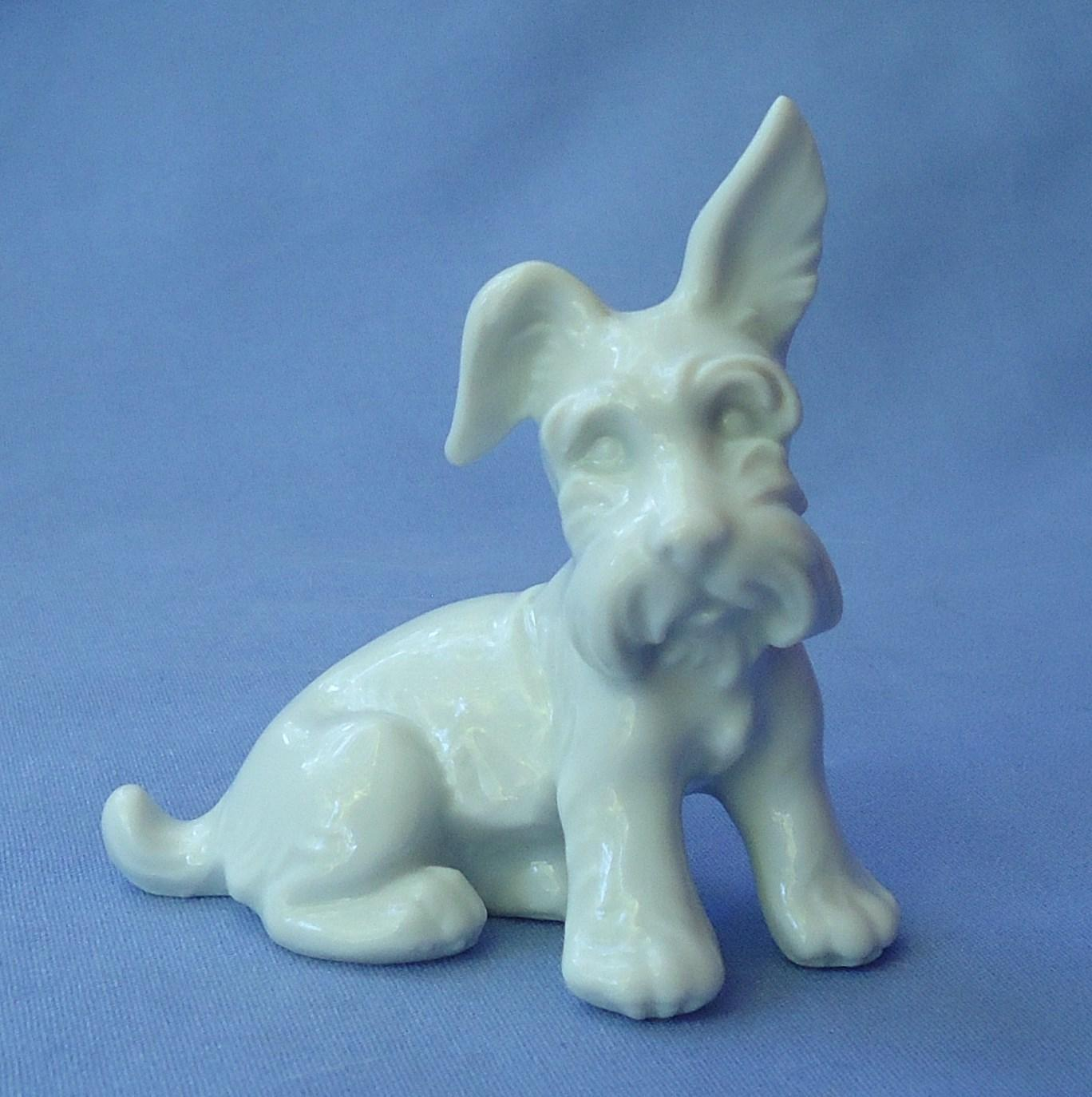 Scotty dog Scottish  Skye terrier Austria Augarten  3""