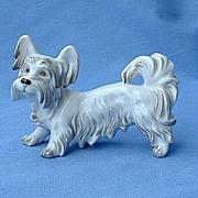 vintage Augarten Austria Skye terrier