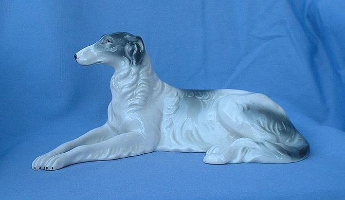1950s big beautiful borzoi from Bavaria 11""