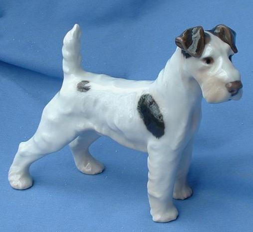 "8"" Bing & Grondahl Fox Terrier Airedale"