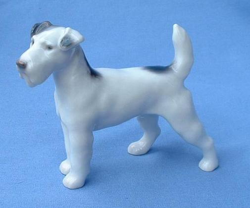 """Bing & Grondahl Fox Terrier Jack Russell 5"""""""
