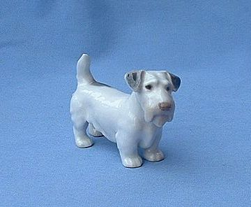 Bing & Grondahl Sealyham Cesky terrier Denmark dog