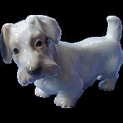 """Sealyham Cesky terrier dog Bing & Grondahl Denmark 6"""""""