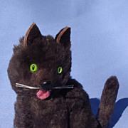 """black fur cat 4 French fashion doll 5"""" Germany"""