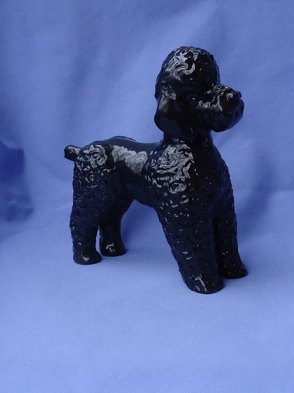 "HTF black Rosenthal poodle 7"" Germany"