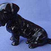 1950s black Sealyham Cesky terrier Metzler Ortloff Germany 7""