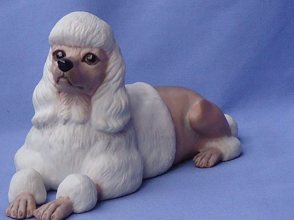 """vintage show cut Poodle Boehm 7"""""""