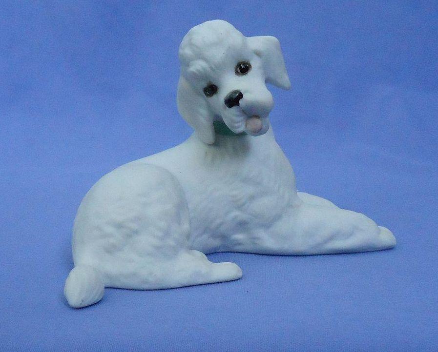 """.vintage Boehm precious Poodle   5"""""""