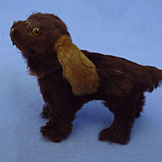 fur Cocker Spaniel salon dog French fashion doll companion Germany label 3""