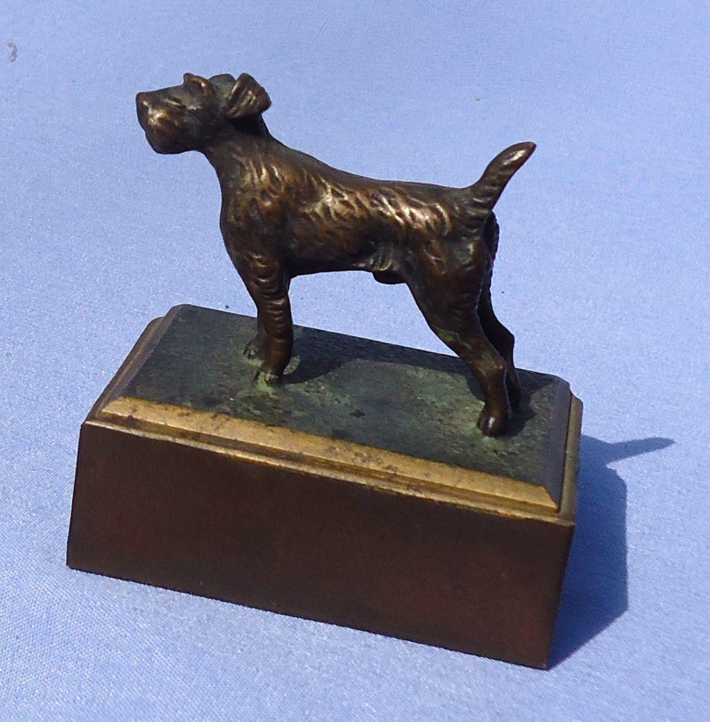 Vienna bronze Airedale Irish Fox terrier Austria
