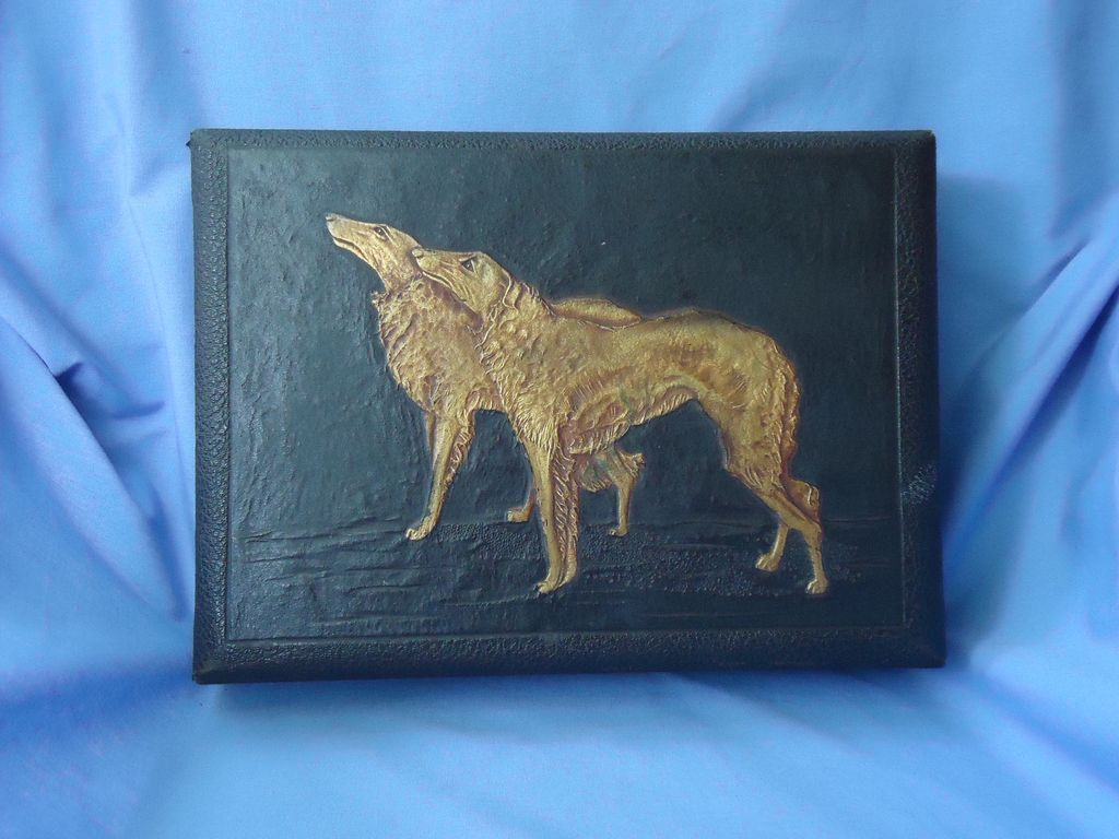 htf Borzoi box 11""