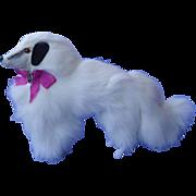 "fur Borzoi salon dog  4 French fashion doll Germany 7"""