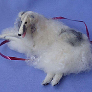 OOAK Borzoi French fashion doll companion dog Germany 6""