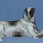 """1950s porcelain Borzoi Goldscheider copy 13"""""""