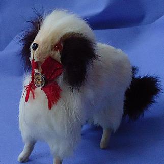 "Cavalier King Charles spaniel salon dog Germany French fashion doll 6"""