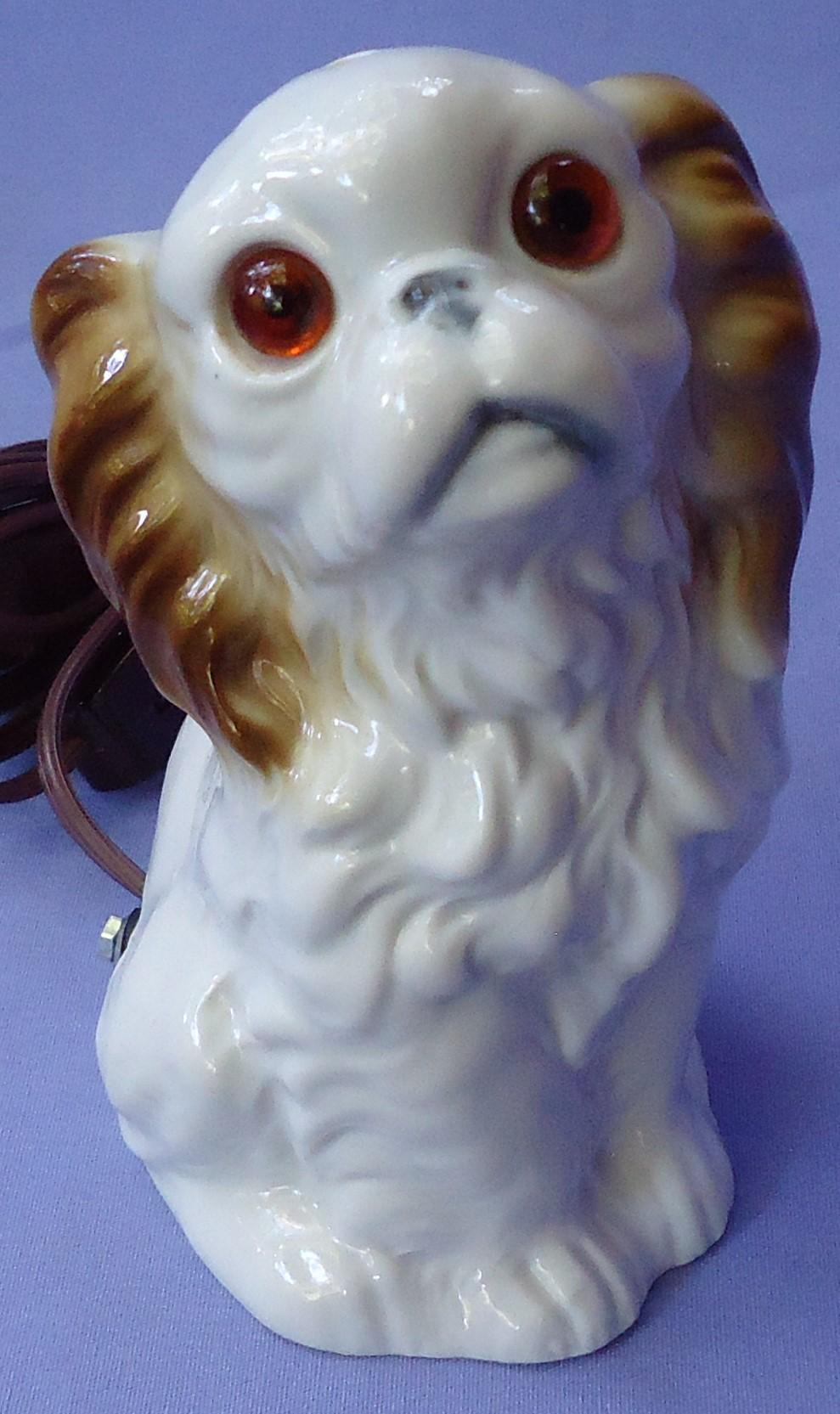 "Cavalier King Charles Spaniel perfume lamp Germany 5"""