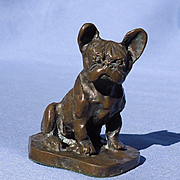 cc bronze French Bulldog 3""