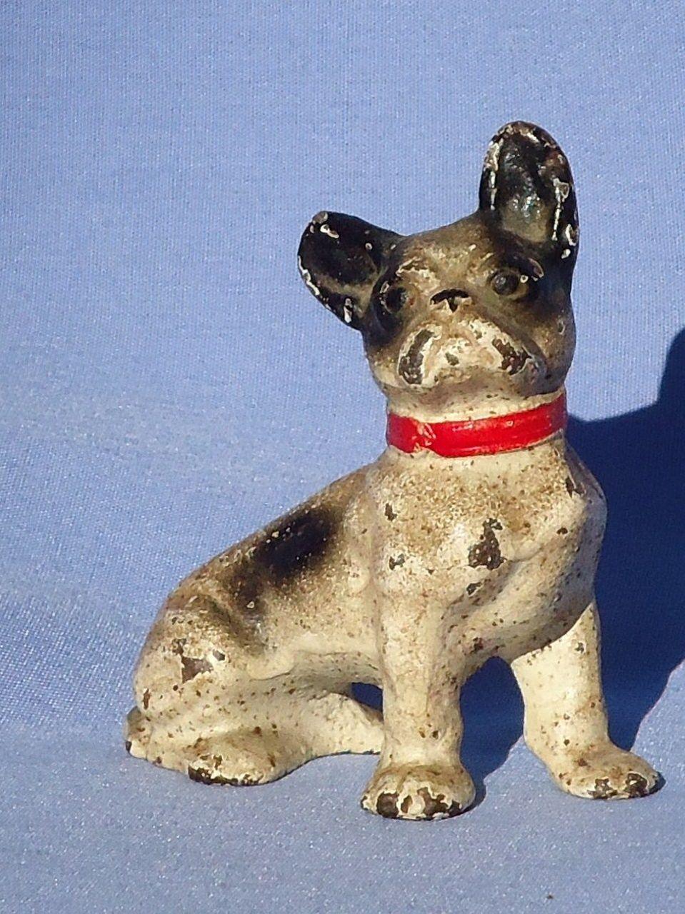 Hubley cast iron French Bulldog