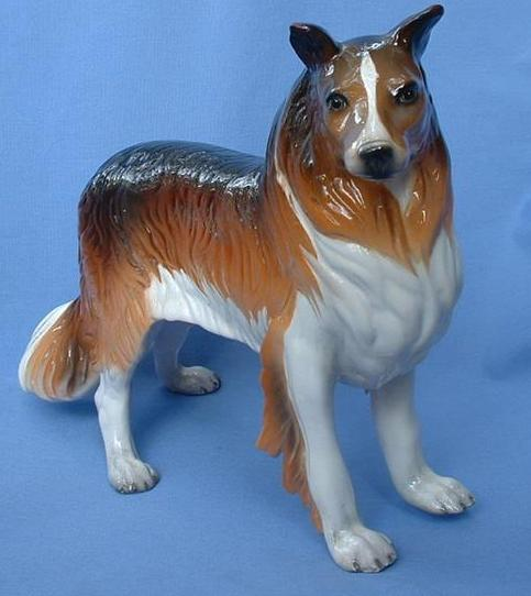 1950s Collie Ronzan Italy 12""