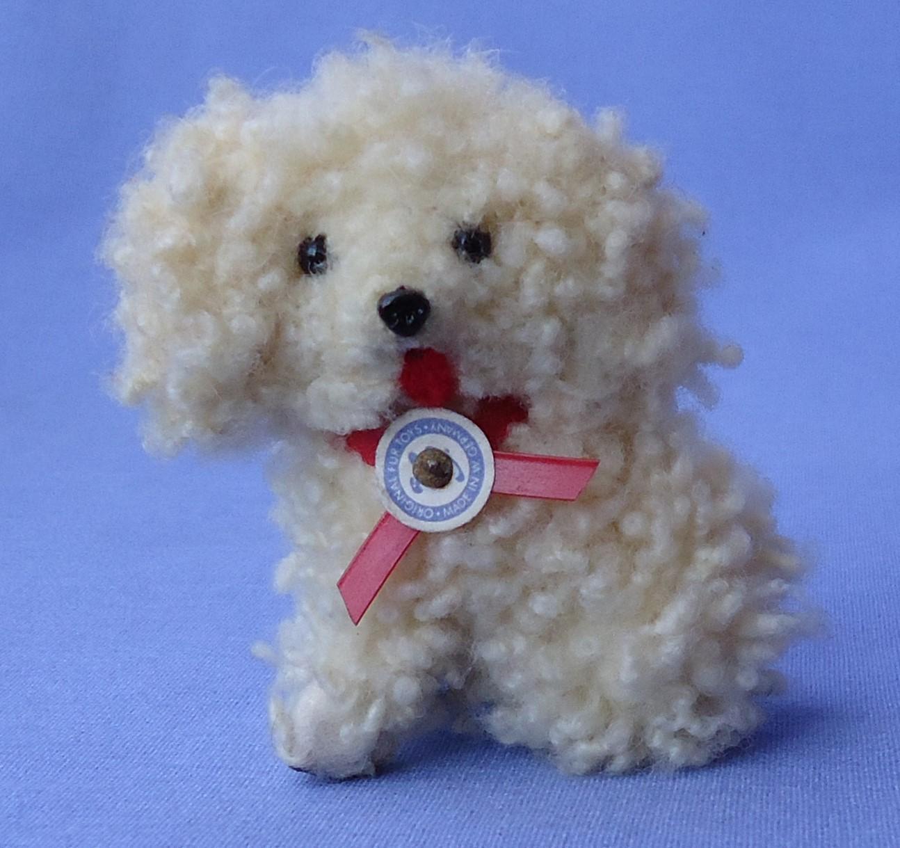 curly fur Havanese salon dog French fashion doll Germany