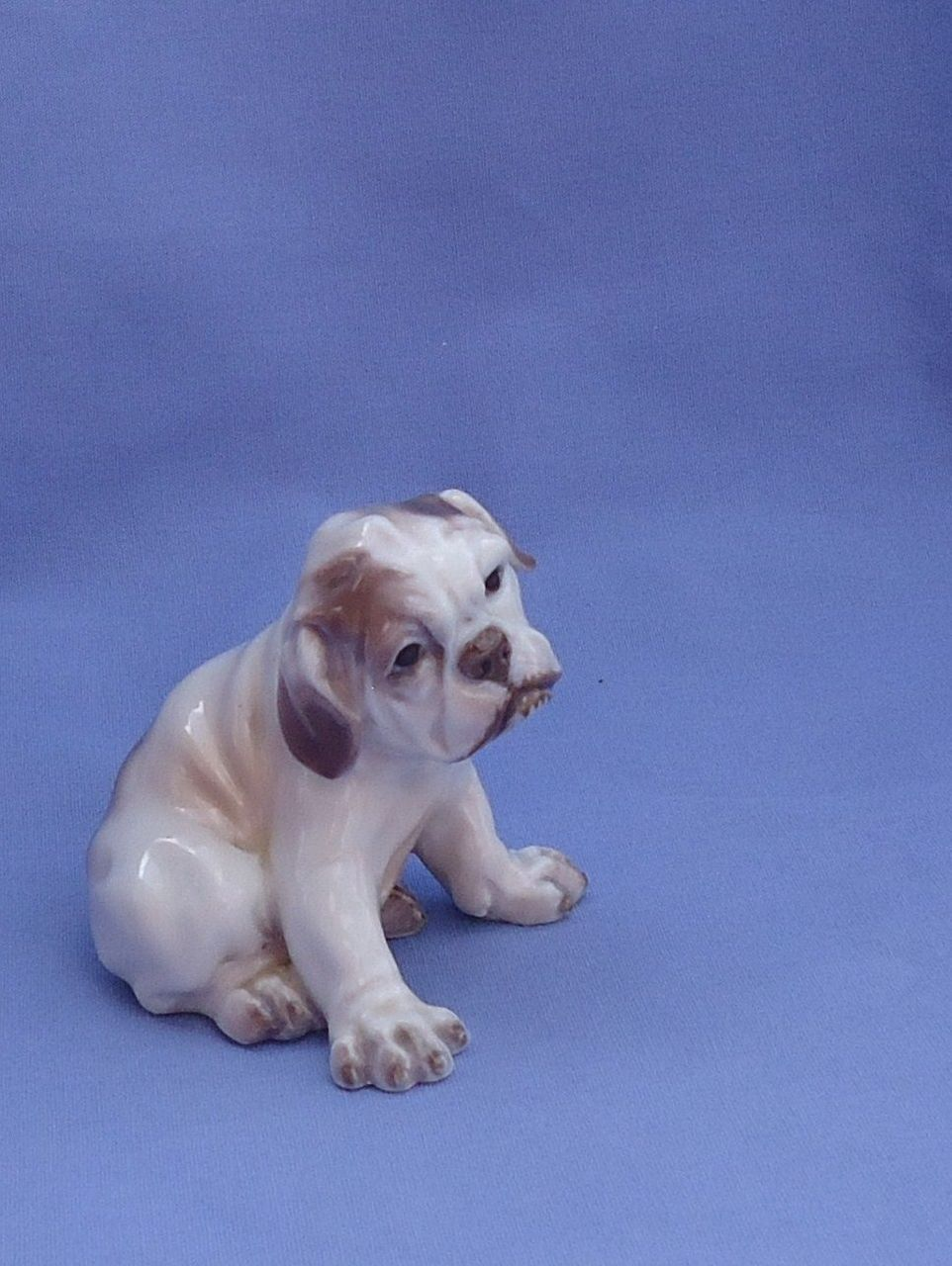 1950s English Bulldog Saint Bernard puppy Dahl Jensen