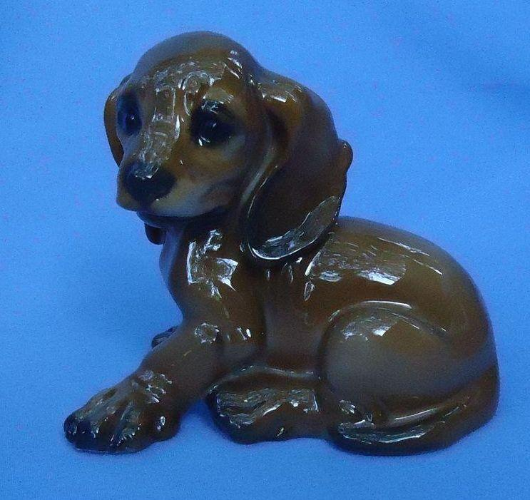Dachshund puppy dog  Rosenthal Germany