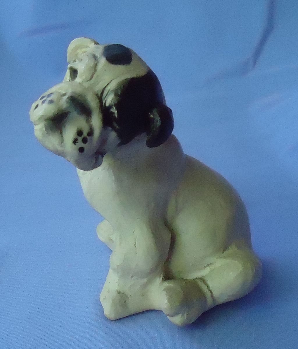 1930/40s English bulldog Jan Allan 6""