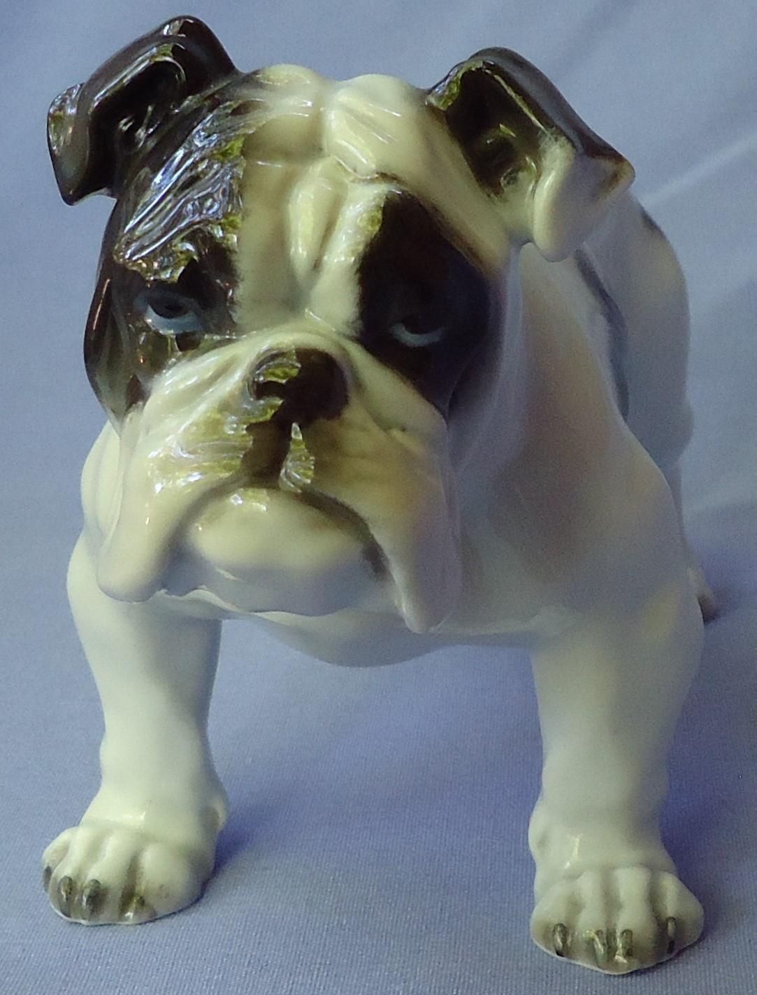 "1930s English Bulldog Rosenthal Germany 7"""