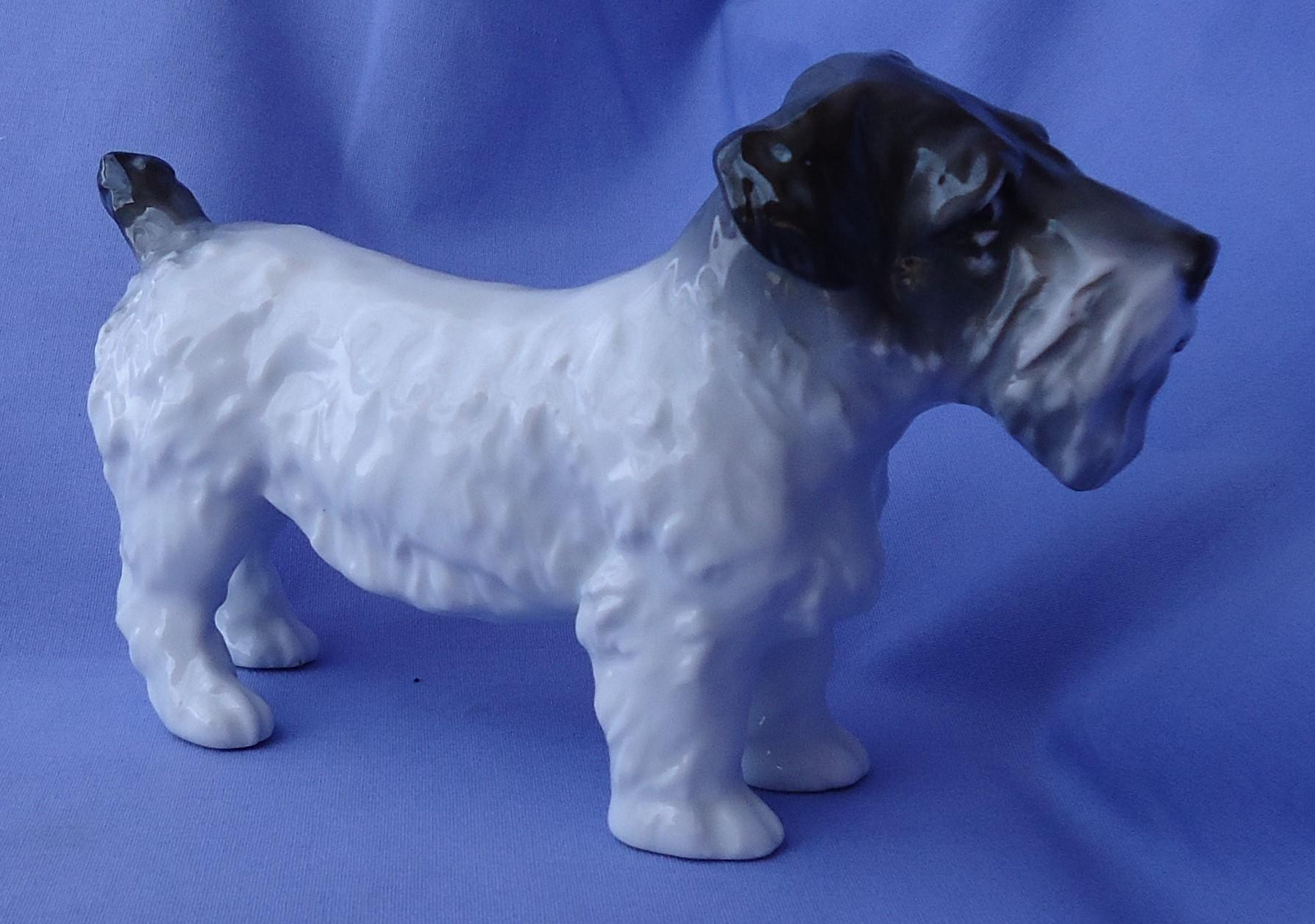 "vintage 7"" Sealyham Cesky terrier Ens Germany"