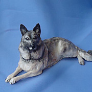 Elkhound Spitz Eve Pearce 9""