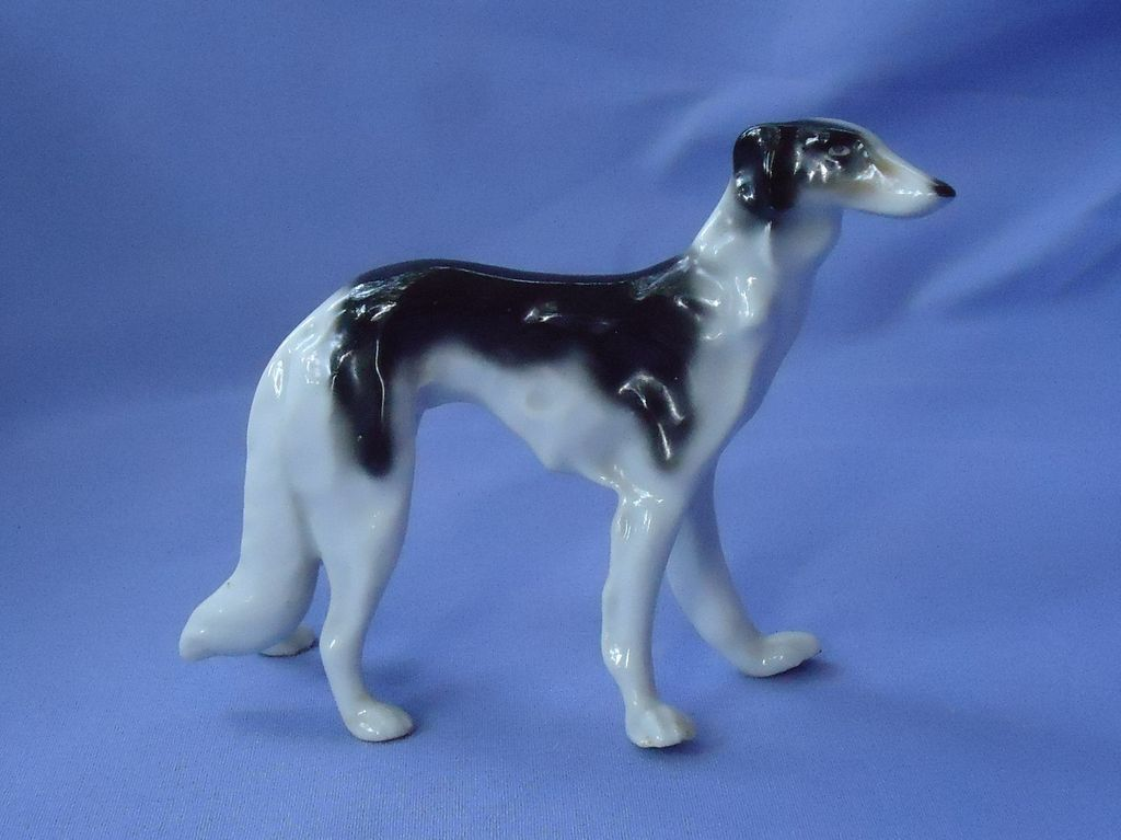 1930 tri color  Borzoi  Erphila Germany 6""