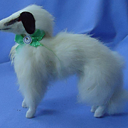 Borzoi Salon dog Germany French fashion doll 6""