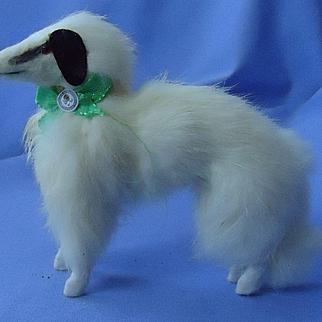 "Borzoi Salon dog Germany French fashion doll 6"""