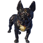 """antique French Bulldog Heyde Germany 5"""" as is"""