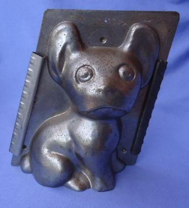 "8"" chocolate mold French Bulldog Boston terrier"