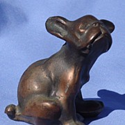 precious  French Bulldog Boston  Terrier original finish