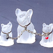 1920s French Bulldogs marked Czechoslovakia
