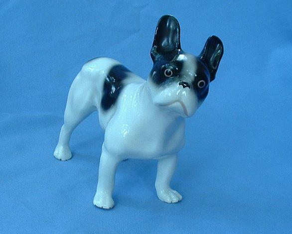 "1920/30s French Bulldog Boston Terrier Germany 7"""