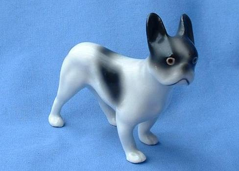 1920 French Bulldog Boston Terrier Germany 4""