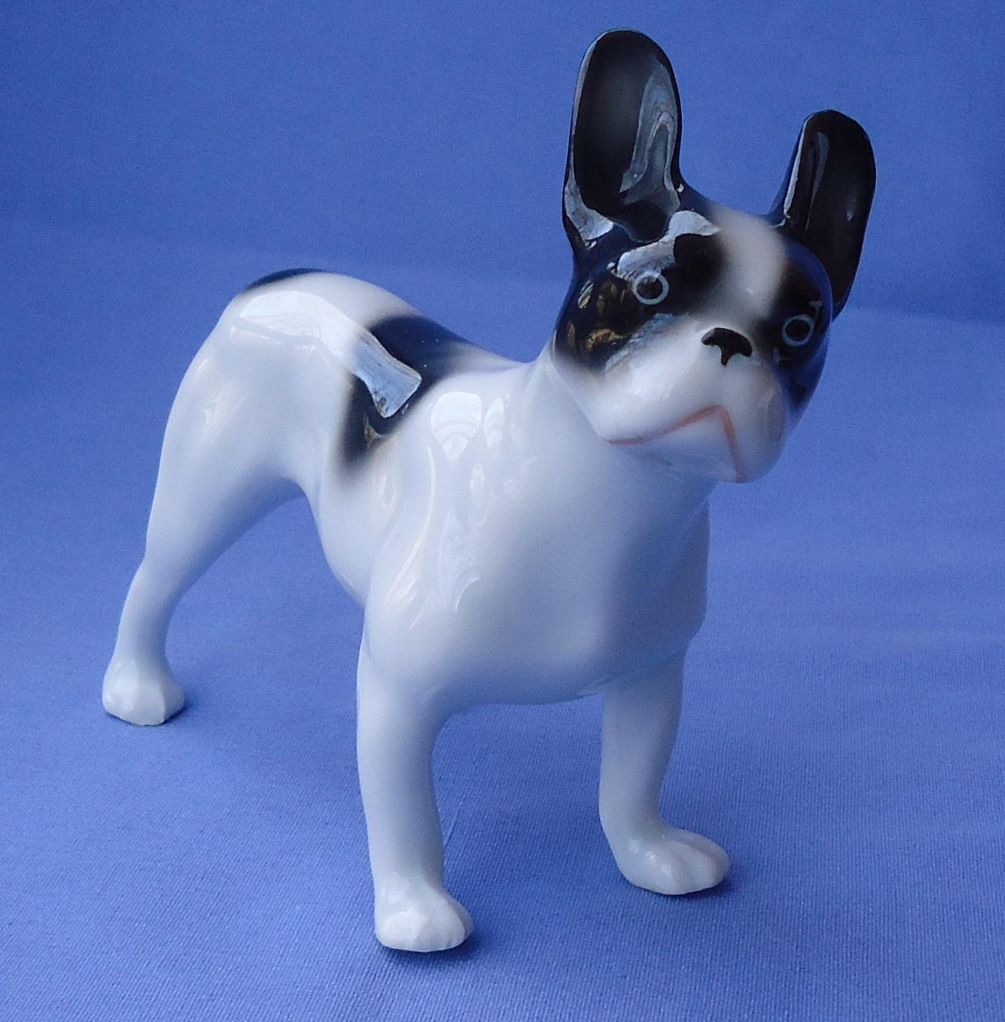 1920 French Bulldog mom Germany 5""