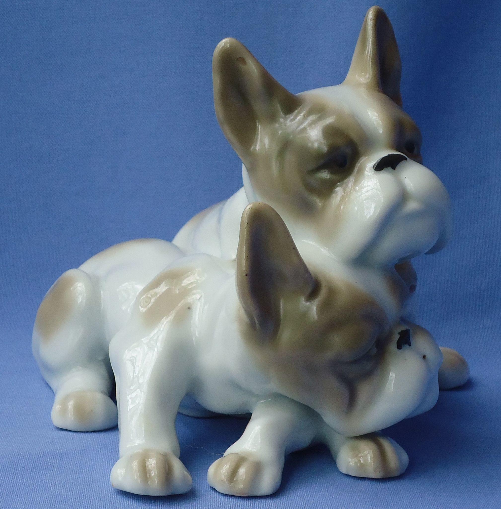 "French bulldog pair 6"""