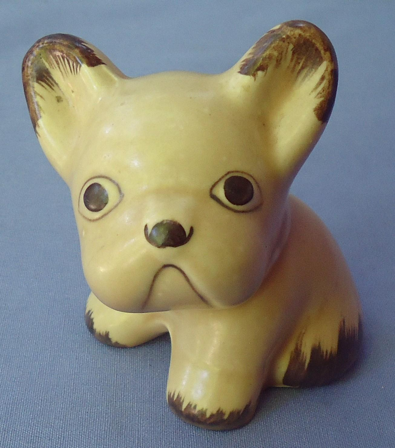 French Bulldog Sylvac England 4""