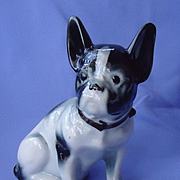 1940s French Bulldog Wrisley Perfumer Chicago 9""