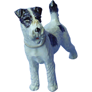 Wire Fox Terrier Augarten Wien Austria  dog 7""
