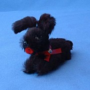 German fur toy dog 4 French fashion doll  Scotty