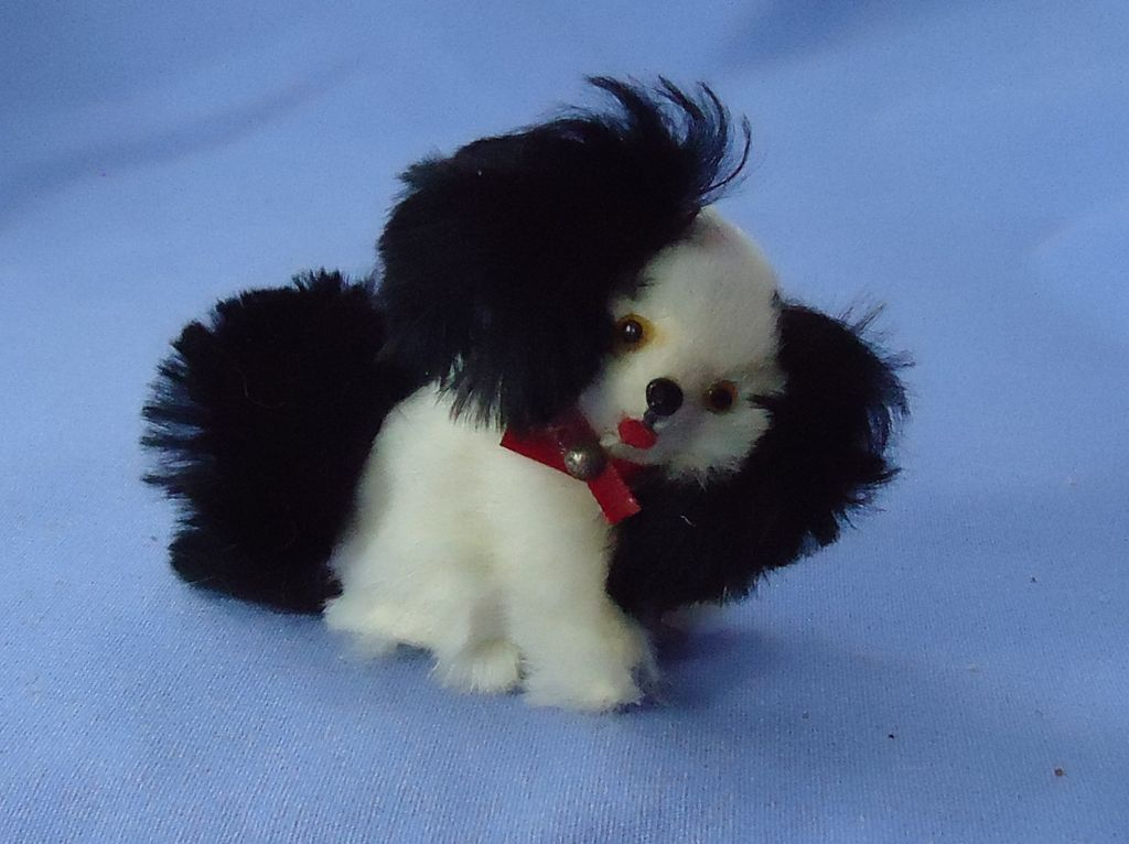 Cavalier King Charles spaniel French fashion doll