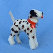 Germany  fur toy dog Dalmatian 4 French fashion doll