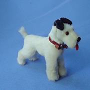antique fur Fox terrier French fashion doll Germany