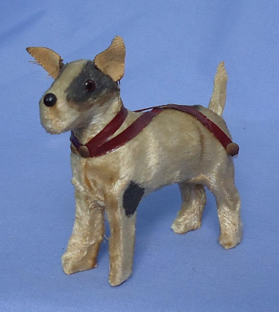 antique Fripon fox terrier French fashion doll Germany 4""